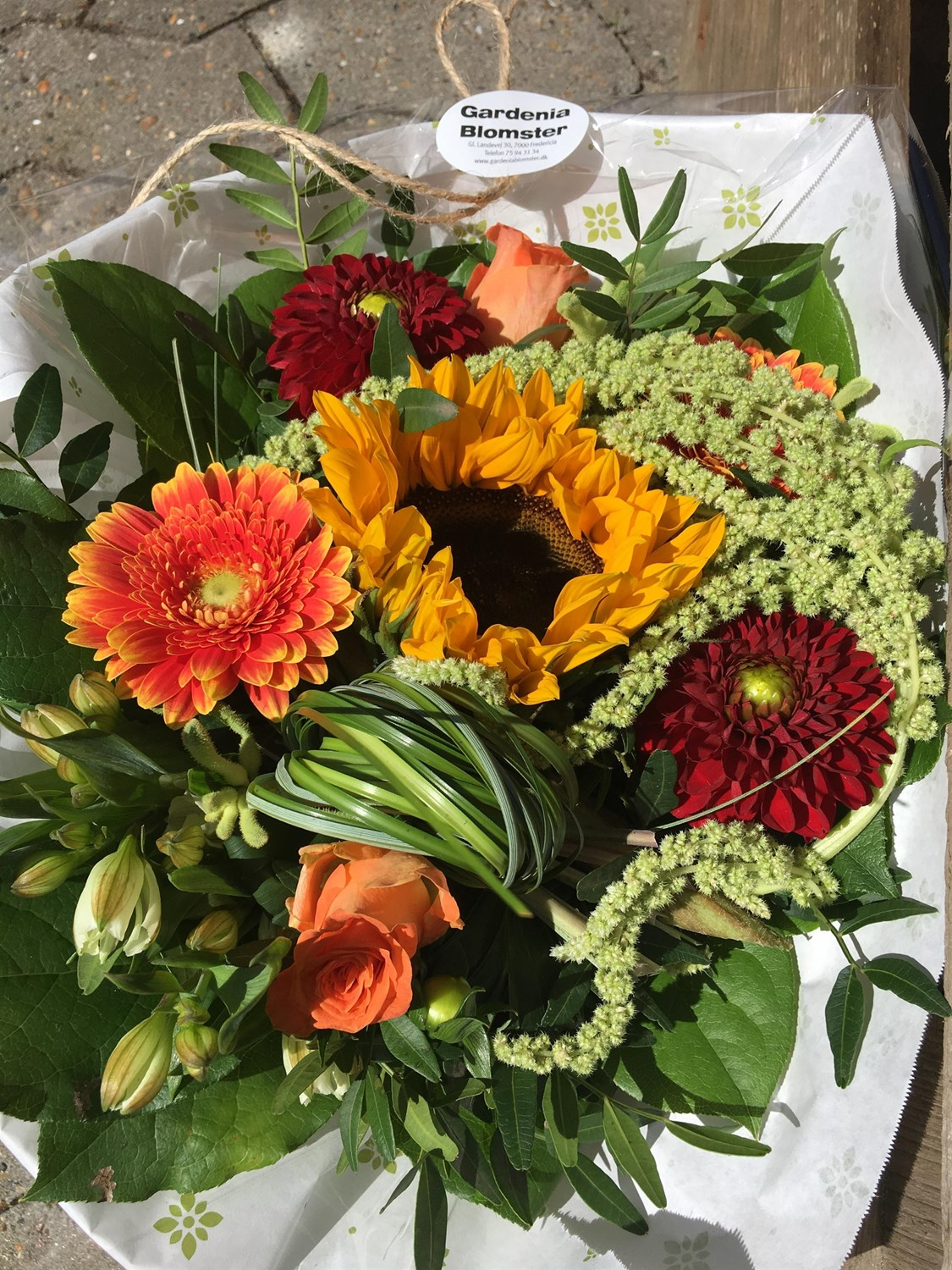 blomster levering fredericia